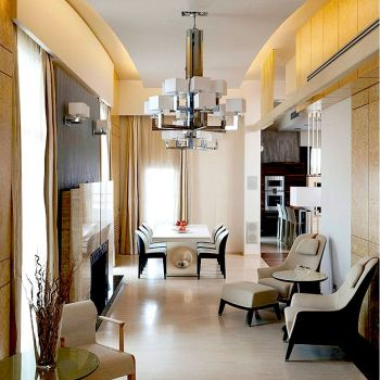 Metallics In Interiors